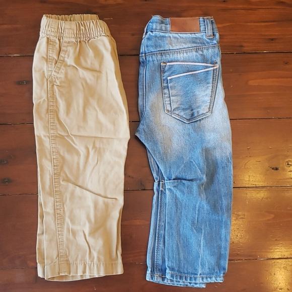 2 pair of pants